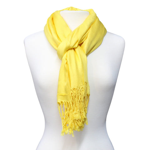 Solid Color Pashmina Scarf/Wrap