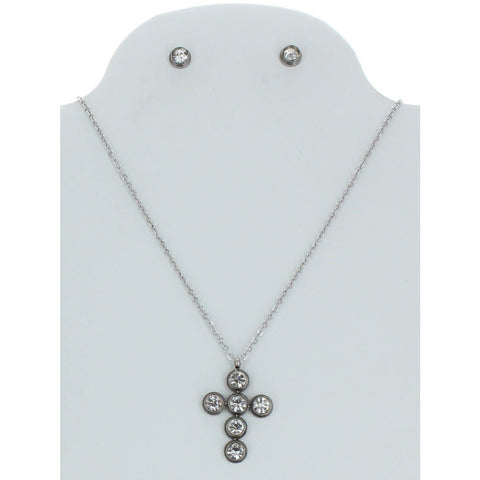Stainless Steel Necklace Set