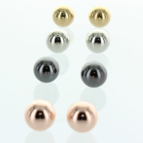 4 Pairs Classic Fashion Earring
