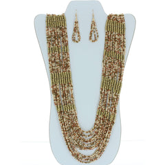 Beaded Fashion Necklace
