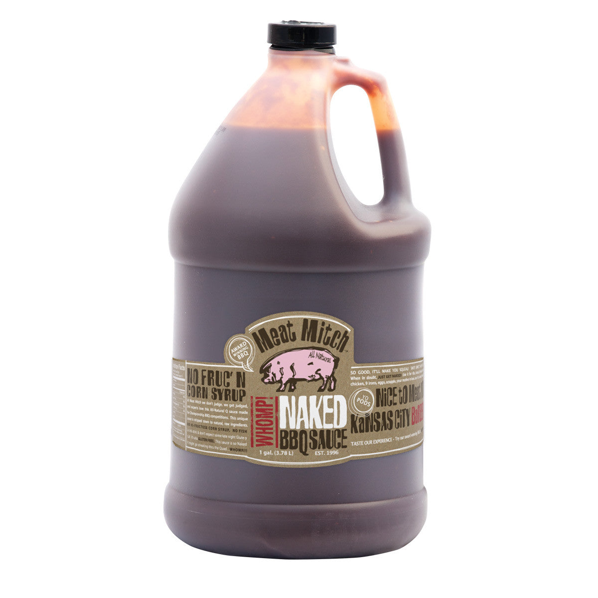 Lancaster BBQ Supply | Meat Mitch WHOMP! Naked BBQ Sauce