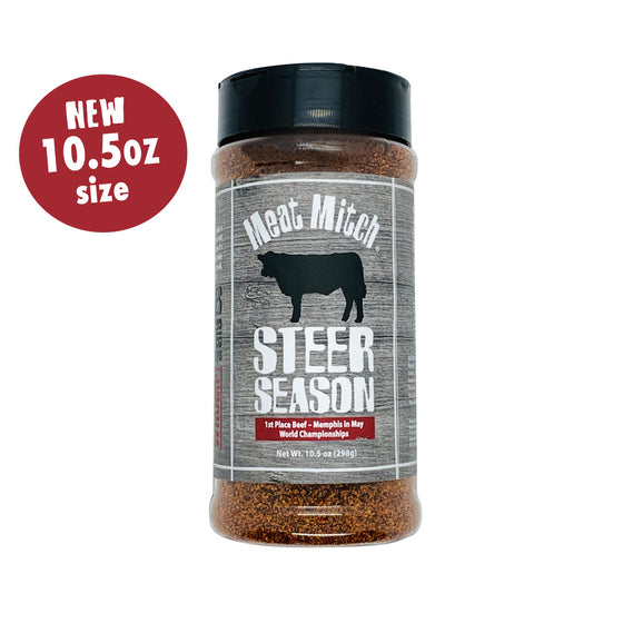 Steer Season Rub - 10.5 oz