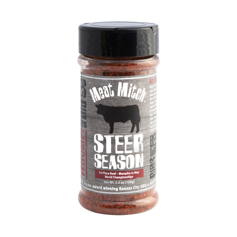 Steer Season Rub - 6.2 oz