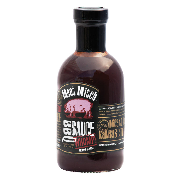Meat Mitch WHOMP BBQ Sauce 21oz