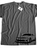 Camaro Side Short Sleeve Cotton T-Shirt