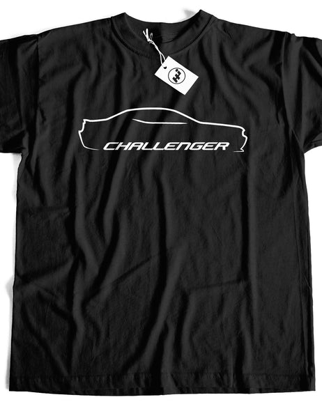 Challenger Car Short Sleeve Cotton T-Shirt
