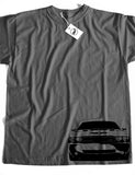 Challenger SRT-8 Side Short Sleeve Cotton T-Shirt