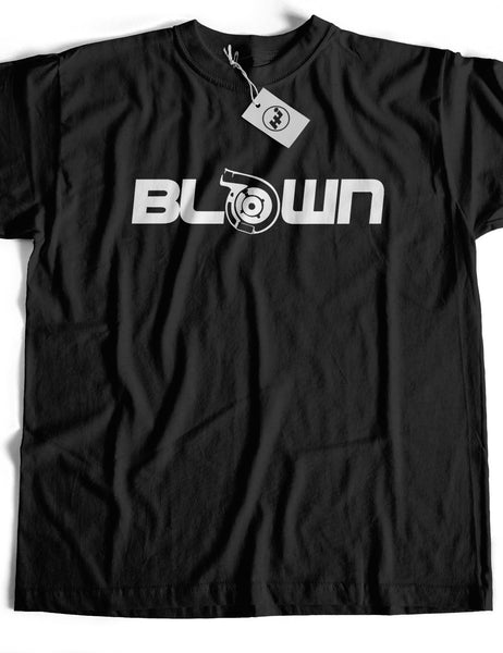 Blown Turbo Short Sleeve Cotton T-Shirt