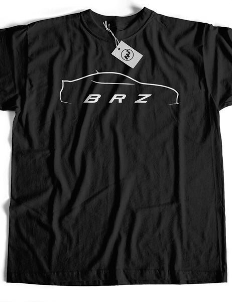 BRZ Car Short Sleeve Cotton T-Shirt