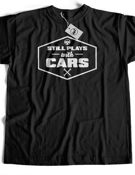 Still Plays With Cars Short Sleeve Cotton T-Shirt