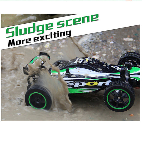RC Car 1/20 Scale High-speed Remote Control Car Off-Road 2WD Radio Controlled Electric Vehicle