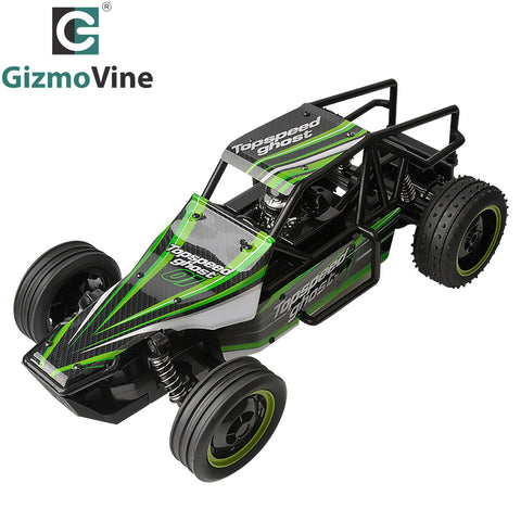 GizmoVine 1/10 RC Car High Speed 15Mph RC Racing Buggy Desert Truggy 2.4GHZ Fast Super Control RTR Gallop