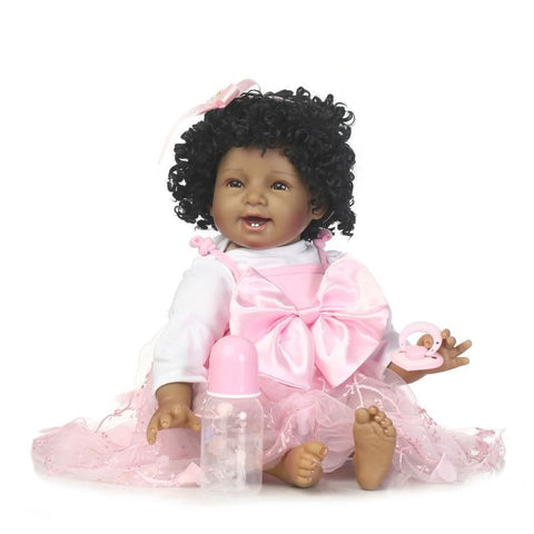 Reborn Baby Dolls 22 Inch Cute Realistic Soft Silicone Vinyl Dolls Newborn Baby dolls With Clothes