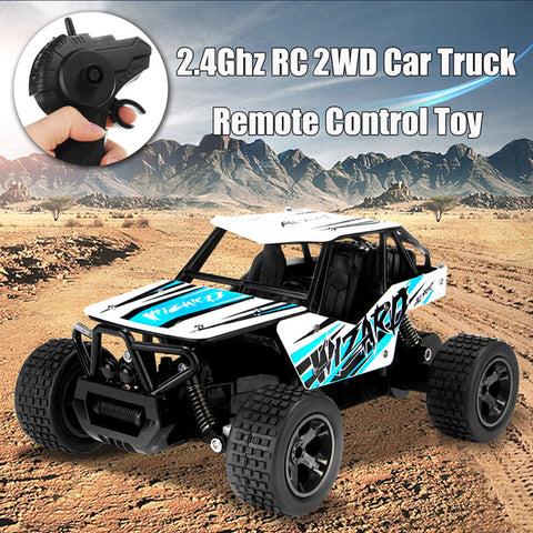 2.4Ghz RC Rock Crawler Car Truck Off-Road Shock Vehicle Buggy Remote Control Toy