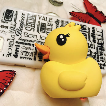 Rubber Ducky Yellow Duck 2600mAh Portable Charger Power Bank