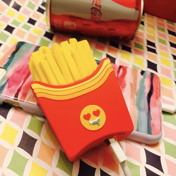 French Fry For Life French Fries Emoji 2600mAh Portable Charger Power Bank