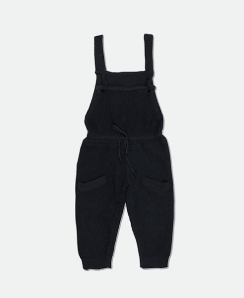 the black baby waffle overall