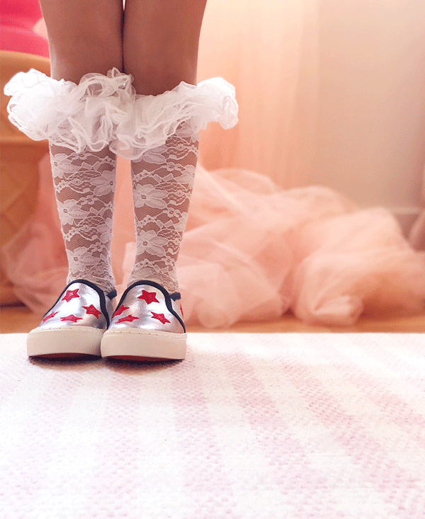 the frilly lace sock