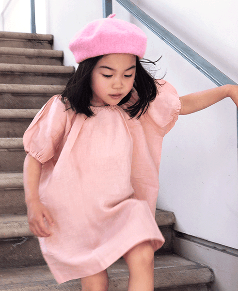 the pretty peachy smock