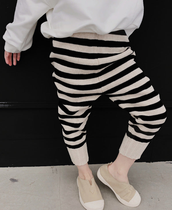 The Cool Stripes Harem Jogger