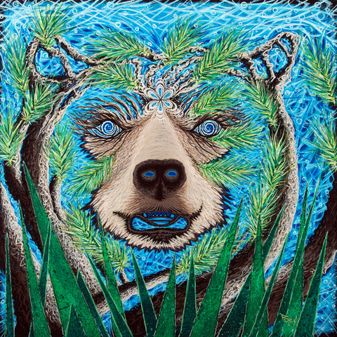 Spirit Bear Original Painting