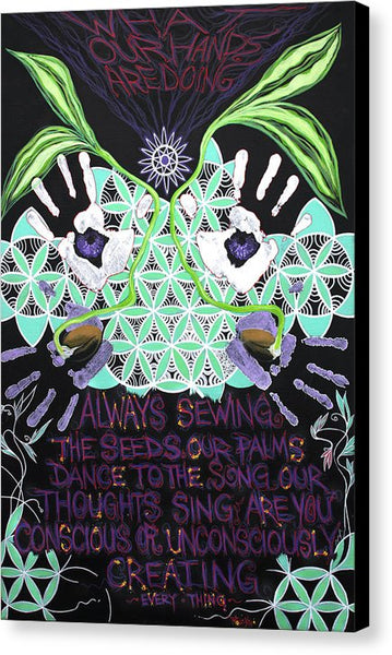 Conscious Seeds - Canvas Print