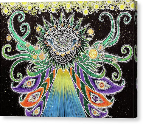 Divine Dance - Canvas Print