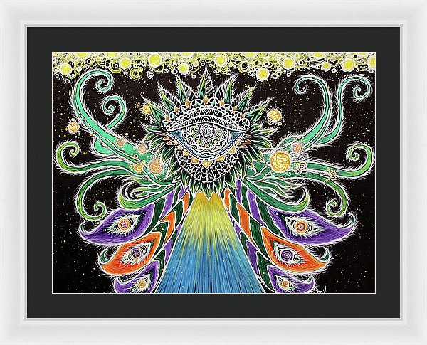 Divine Dance - Framed Print