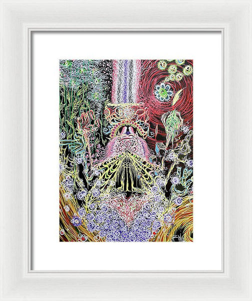 Divine Moments Of Truth - Framed Print