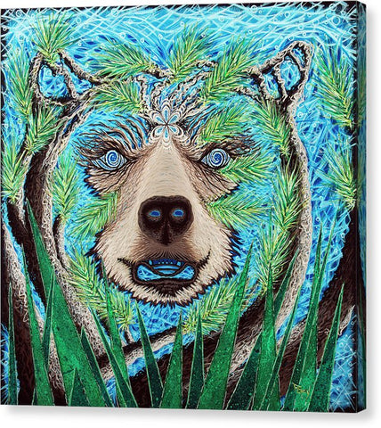 Spirit Bear - Canvas Print
