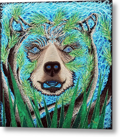Spirit Bear - Metal Print