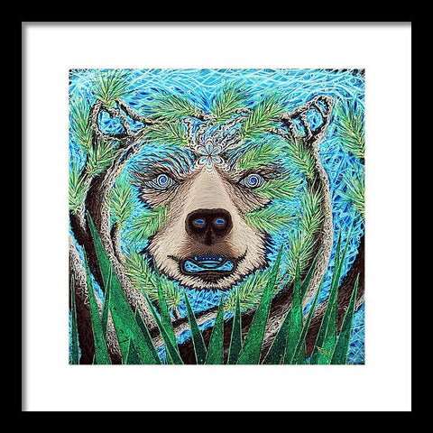 Spirit Bear - Framed Print