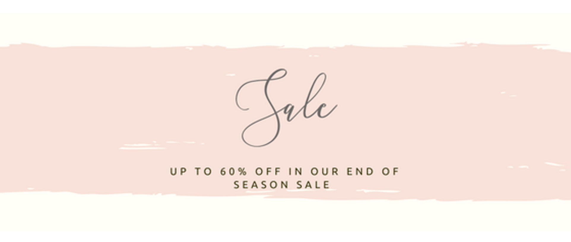 End of Season Swim Wear Sale
