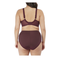 Cate underwire Full cup banded bra Raisin