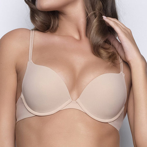 Single boost push up bra