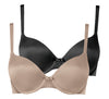 2 Pack - Body make up smooth t shirt bra