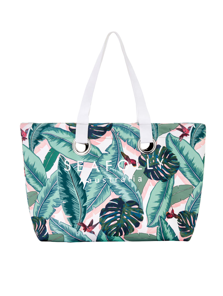 Seafolly Palm Beach Eyelet Tote