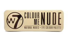 W7 Colour Me Nude Eye Palette