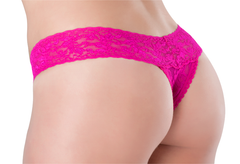One Size Fits All Lace Thong