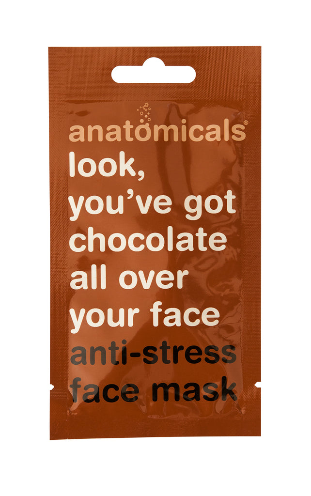 Anatomicals You've Got Chocolate All over your Face  Face Mask