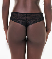 Nice everyday - NVPL thong with lace back
