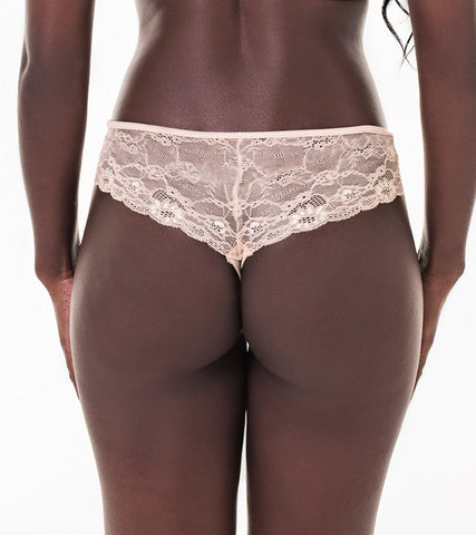 Nice everyday NVPL thong with lace back