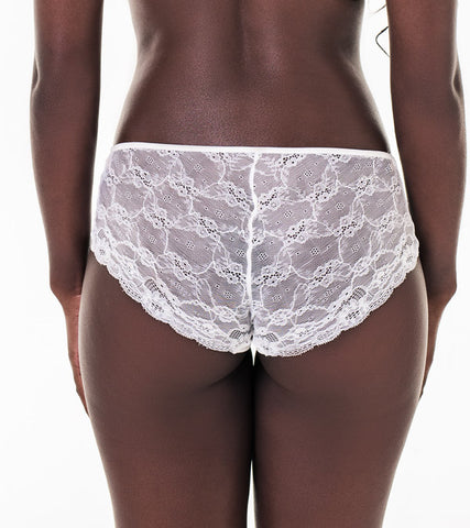 Nice everyday - NVPL boyleg with lace back