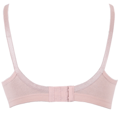 Everyday comfort - 2 pack cotton lace trim feeding bra