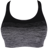 Light workout - Seamless padded crop top bra