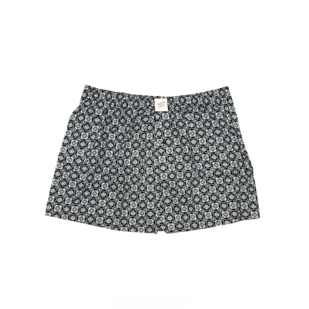 Black Night Garden Boxer/Sleep Shorts