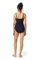 Square neck swimsuit