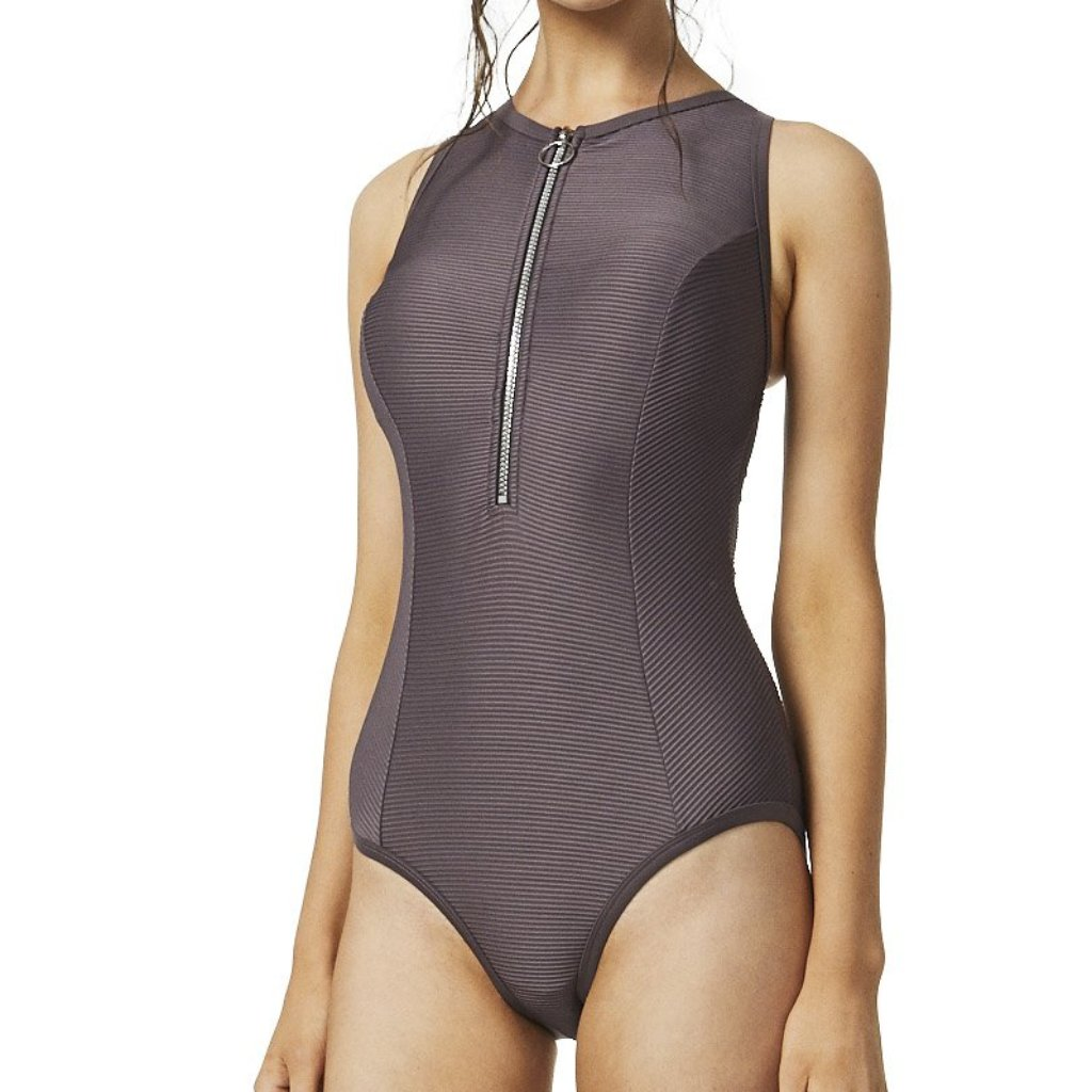 Zip butterfly swimsuit