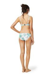 Ruched side bikini bottom