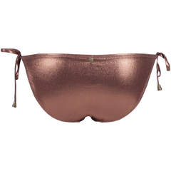 Sissy Boy Bronze Metallic Tie Side Bikini bottom